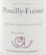 Domaine Guffens-Heynen Pouilly-Fuissé C. C - label