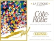 E. Guigal Côte Rôtie La Turque - label