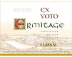 E. Guigal Hermitage Ermitage Ex Voto - label