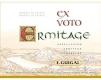 E. Guigal Hermitage Ermitage Ex Voto Blanc - label