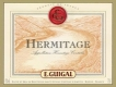 E. Guigal Hermitage  - label