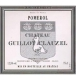 Château Guillot Clauzel  - label