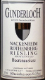 Gunderloch Nackenheim Rothenberg Riesling BA - label