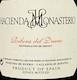 Hacienda Monasterio  Crianza - label