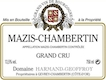 Domaine Harmand-Geoffroy Mazis-Chambertin Grand Cru  - label