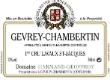 Domaine Harmand-Geoffroy Gevrey-Chambertin Premier Cru Lavaux Saint-Jacques - label