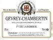Domaine Harmand-Geoffroy Gevrey-Chambertin Premier Cru La Perrière - label