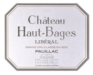 Château Haut-Bages Libéral  Cinquième Cru - label