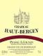 Château Haut-Bergey  - label