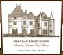 Château Haut-Brion  Premier Cru - label
