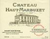 Château Haut-Marbuzet  - label