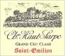 Château Haut-Sarpe  Grand Cru Classé - label