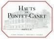 Château Pontet-Canet Hauts de Pontet-Canet - label