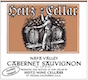 Heitz Cellar Martha's Vineyard Cabernet Sauvignon - label