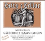 Heitz Cellar Trailside Vineyard Cabernet Sauvignon - label