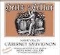 Heitz Cellar Trailside Vineyard Cabernet Sauvignon - label