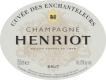 Henriot Cuvée des Enchanteleurs Grand Cru - label
