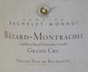 Domaine Bachelet-Monnot Bâtard-Montrachet Grand Cru  - label