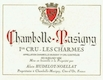 Domaine Hudelot-Noëllat Chambolle-Musigny Premier Cru Les Charmes - label