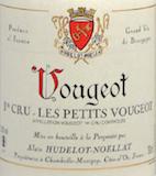 Domaine Hudelot-Noëllat Vougeot Premier Cru Les Petits Vougeots - label
