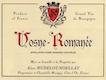 Domaine Hudelot-Noëllat Vosne-Romanée  - label