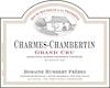 Domaine Humbert Frères Charmes-Chambertin Grand Cru  - label
