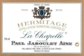Domaines Paul Jaboulet Aîné Hermitage La Chapelle - label
