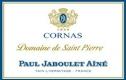 Domaines Paul Jaboulet Aîné Cornas Domaine de Saint-Pierre - label