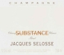 Jacques Selosse Substance Brut Grand Cru - label