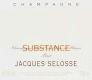 Jacques Selosse Substance Brut Grand Cru - label