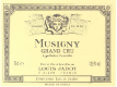 Maison Louis Jadot Musigny Grand Cru  - label
