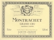 Maison Louis Jadot Montrachet Grand Cru  - label