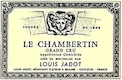 Maison Louis Jadot Chambertin Grand Cru  - label