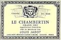 Maison Louis Jadot Chambertin Grand Cru  - label