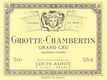 Maison Louis Jadot Griotte-Chambertin Grand Cru  - label