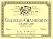 Maison Louis Jadot Chapelle-Chambertin Grand Cru  - label