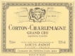 Maison Louis Jadot Charlemagne Grand Cru  - label