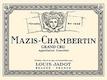 Maison Louis Jadot Mazis-Chambertin Grand Cru  - label