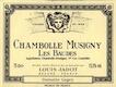 Maison Louis Jadot Chambolle-Musigny Premier Cru Les Baudes - label