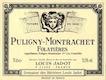 Maison Louis Jadot Puligny-Montrachet Premier Cru Les Folatières - label