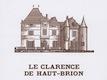 Château Haut-Brion Le Clarence de Haut-Brion - label
