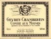 Maison Louis Jadot Gevrey-Chambertin Premier Cru Combe aux Moines - label