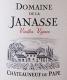Domaine de la Janasse Châteauneuf-du-Pape Vieilles Vignes - label
