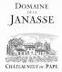 Domaine de la Janasse Châteauneuf-du-Pape Blanc Cuvée Prestige - label
