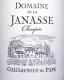 Domaine de la Janasse Châteauneuf-du-Pape Cuvée Chaupin - label