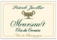 Domaine Patrick Javillier Meursault Clos du Cromin - label