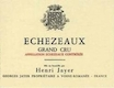 Henri Jayer Echezeaux Grand Cru  - label