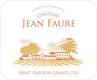 Château Jean-Faure  Grand Cru Classé - label