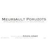 Domaine Antoine Jobard Meursault Premier Cru Poruzots - label