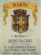 Fattoria dei Barbi (Cinelli Colombini) Rosso di Montalcino  - label